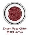 Desert Rose Glitter UV538