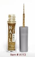 Small Gold Glitter A113